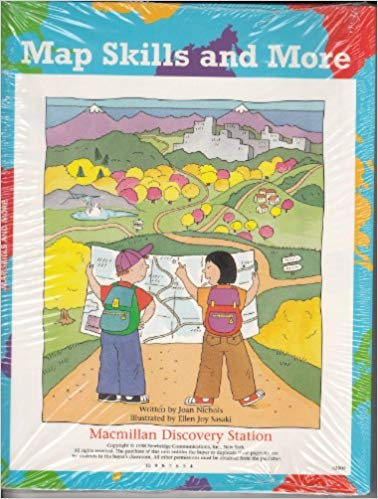 Map Skills and More Leaders Guides (set of 8) (used) - Little Green Schoolhouse Books