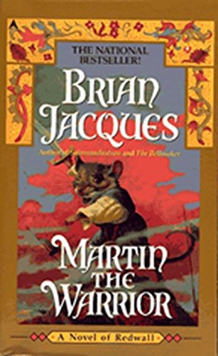 Martin The Warrior - by Brian Jacques - Used - Little Green Schoolhouse Books