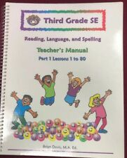 McRuffy's Third Grade Language Arts Teacher's Manual Part 1 (Used-Like New) - Little Green Schoolhouse Books