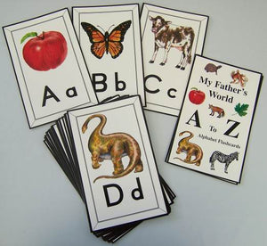 God's Creation A to Z Alphabet Flashcards-MFW (Used-Good) - Little Green Schoolhouse Books