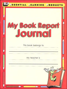 My Book Report Journal Gr. 1-3 (used-like new) - Little Green Schoolhouse Books
