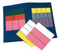 Math U See Fraction Overlay Kit (Used-Worn/Acceptable) - Little Green Schoolhouse Books