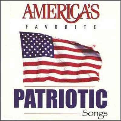 America's Favorite Patriotic Songs, CD (used-like new) - Little Green Schoolhouse Books