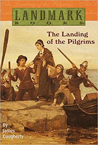 The Landing of the Pilgrims by James Daugherty (Used-Good) - Little Green Schoolhouse Books