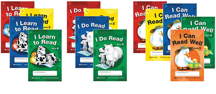 Abeka Basic Phonics Readers (set) - Used - Little Green Schoolhouse Books