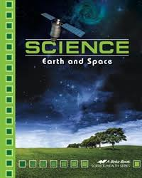 Abeka Science: Earth and Space Textbook (1st edition- current ed) ( Used- Like New) - Little Green Schoolhouse Books