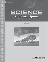 Abeka Science: Earth and Space Teacher Test Key(1st edition) (Used- Like New) - Little Green Schoolhouse Books