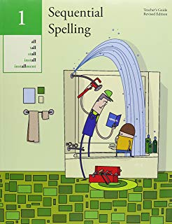 Sequential Spelling, Vol 1 Teacher's Guide (used-like new) - Little Green Schoolhouse Books