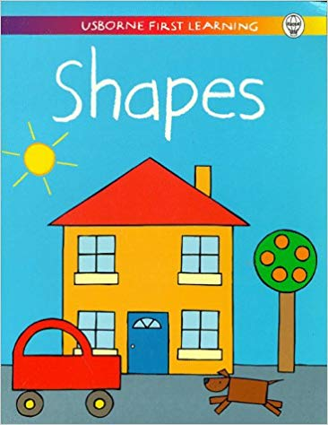 Shapes, Usborne First Learning (Used) - Little Green Schoolhouse Books