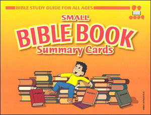 Small Bible Book Summary Cards  (used-like new) - Little Green Schoolhouse Books