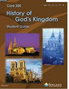 History of God's Kingdom -Sonlight High School 200-01 (2007) (New) - Little Green Schoolhouse Books