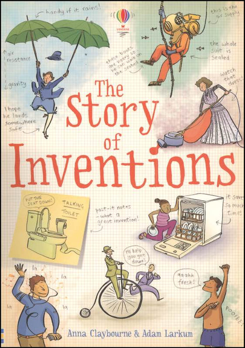 Usborne- The Story of Inventions (Used-like new)