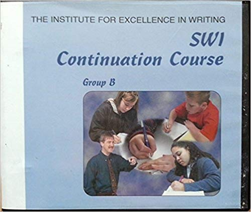 Student Writing Intensive [SWI] Continuation Course for Level B (DVD,Teacher's Manual, and Student Handouts) –  (used-like new) - Little Green Schoolhouse Books