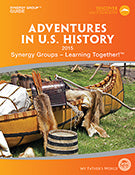 Adventures In U.S. History Synergy Group Guide -My Father's World (Used) - Little Green Schoolhouse Books