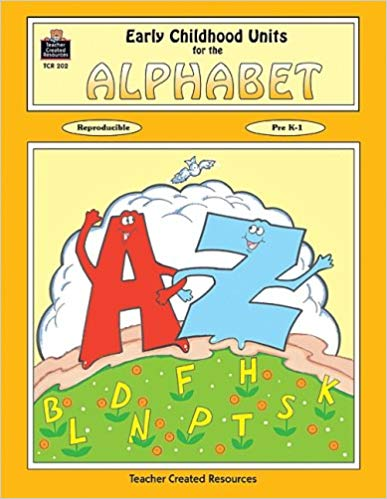 Early Childhood Units for the Alphabet (Used-Good) - Little Green Schoolhouse Books