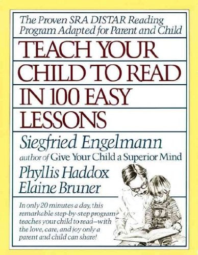 Teach Your Child to Read in 100 Easy Lessons 1983 copyright(Bargain Basement) - Little Green Schoolhouse Books