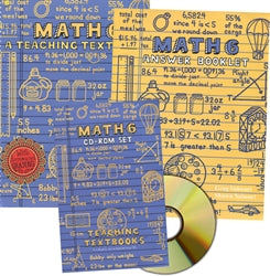 Math 6-Teaching Textbook kit (used) - Little Green Schoolhouse Books