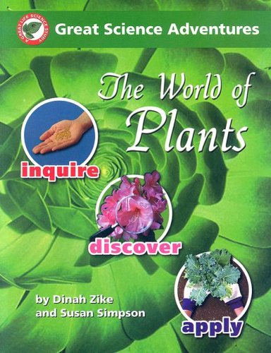 Great Science Adventures: The World of Plants - by Zike and Simpson (Used) - Little Green Schoolhouse Books