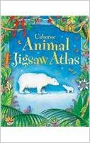 Usborne Animal Jigsaw Atlas (used)