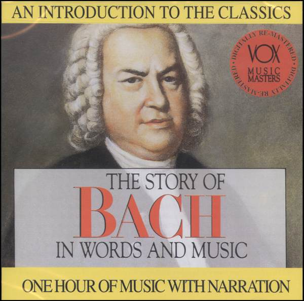 The Story of Bach-  in Words and Music (new) - Little Green Schoolhouse Books