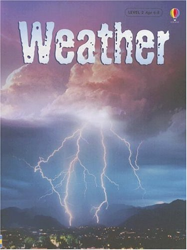 Weather - Usborne Beginners (Used) - Little Green Schoolhouse Books