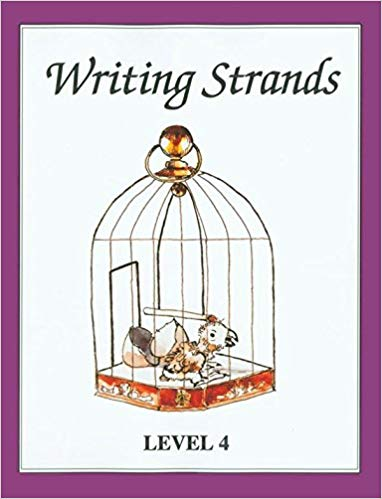 Writing Strands- Level 4(used) - Little Green Schoolhouse Books