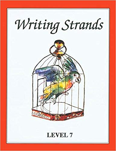 Writing Strands- Level 7 (used) - Little Green Schoolhouse Books