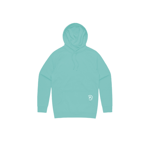KEEP mint hoodie front view