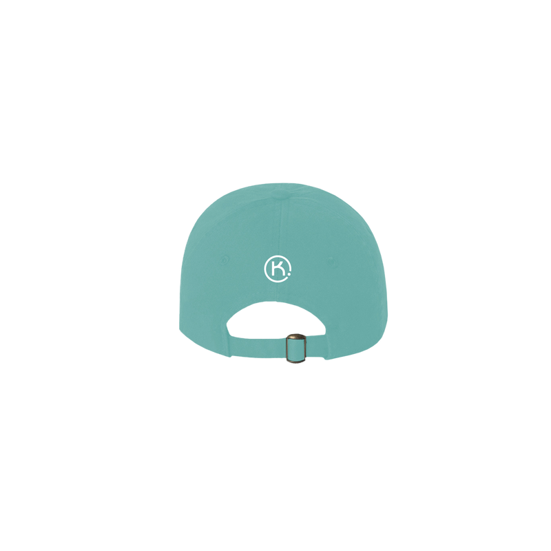 KEEP mint 6 panel cap back view