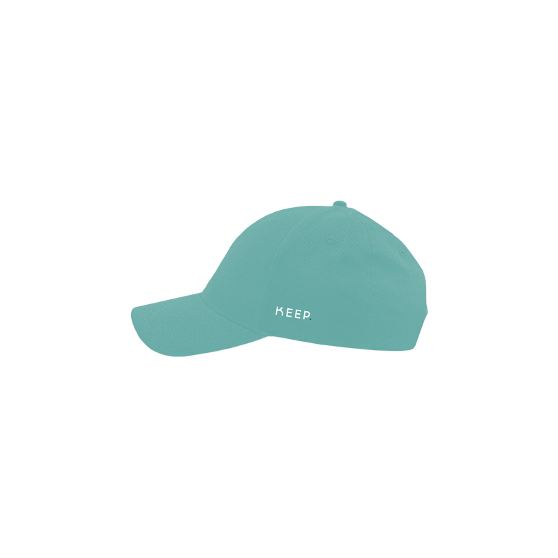 KEEP mint 6 panel cap side view
