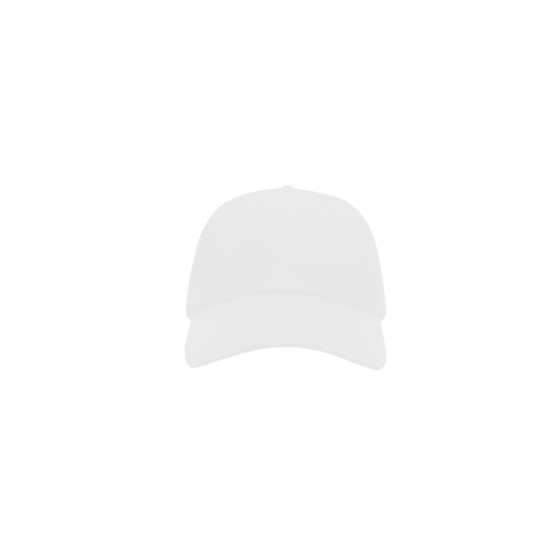 KEEP white 6 panel cap front view
