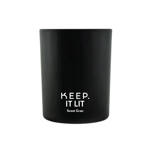 keep it lit sweet grass candle