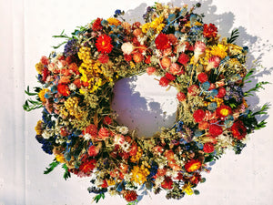 Bright Fall Wreath