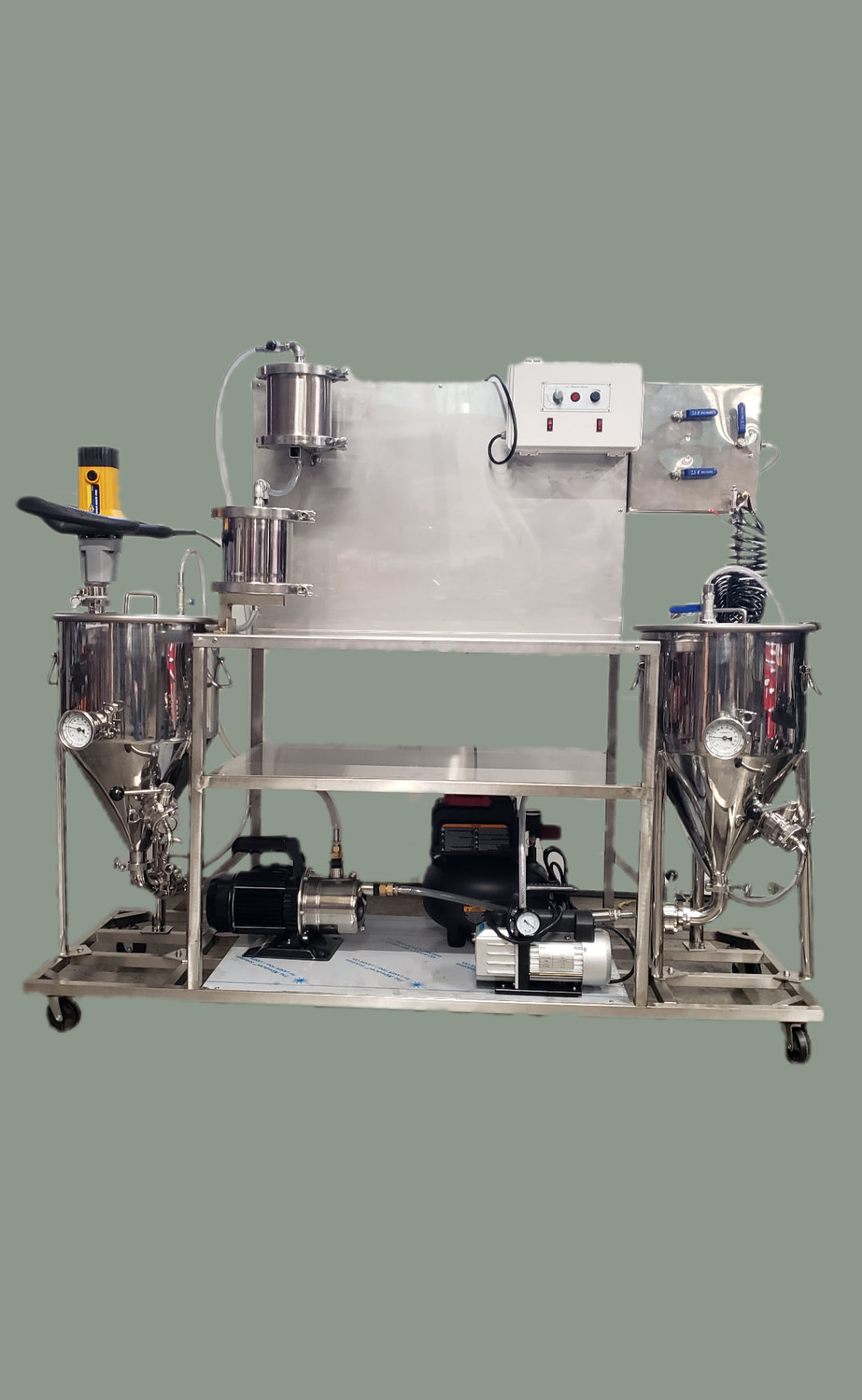 5 Lbs/hr - Processor Workstation - Ice Water Extraction / Bubble Hash System