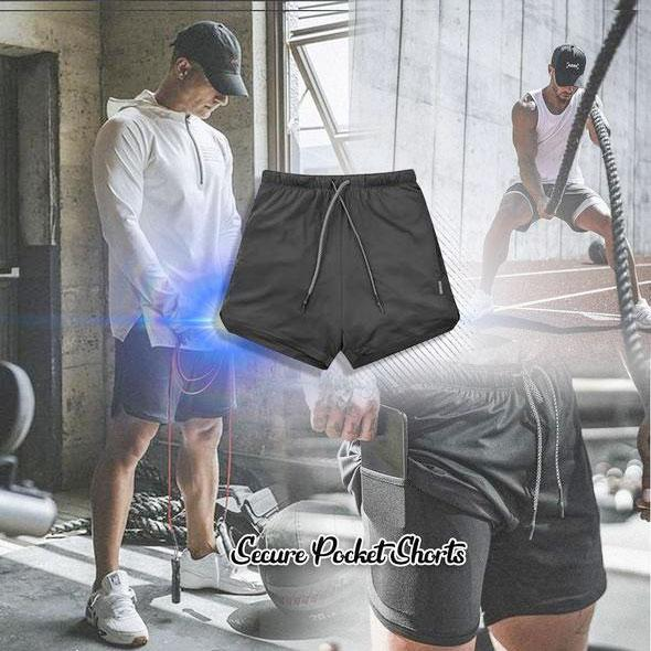 50% off-Men's quick-drying sports pocket pants(Buy two free shipping)
