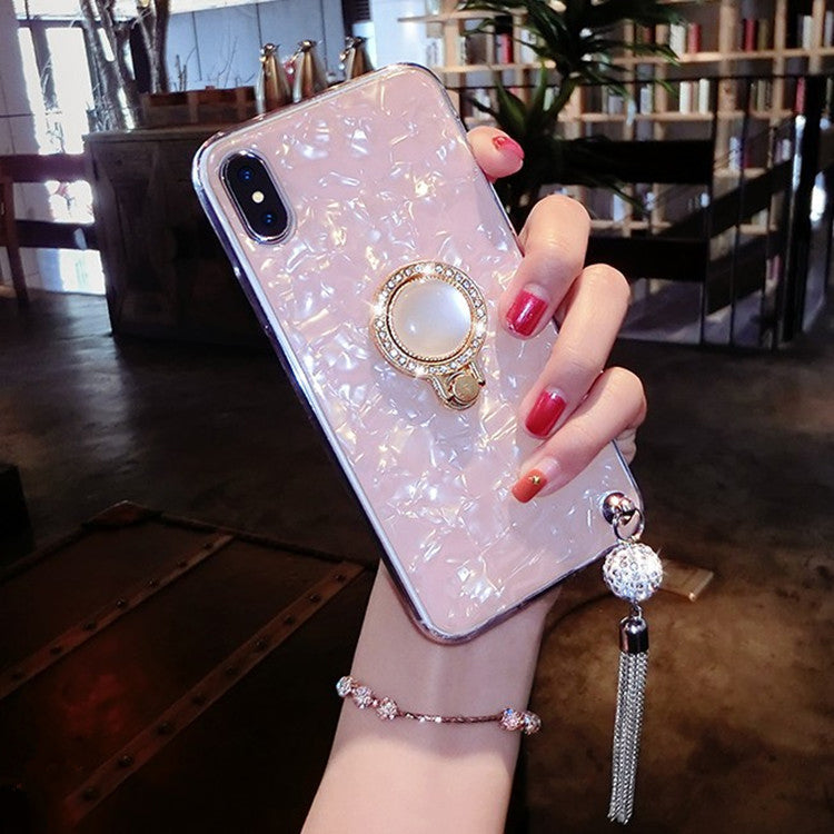 (Buy 2 free shipping) 2019 new fashion fringed diamond case