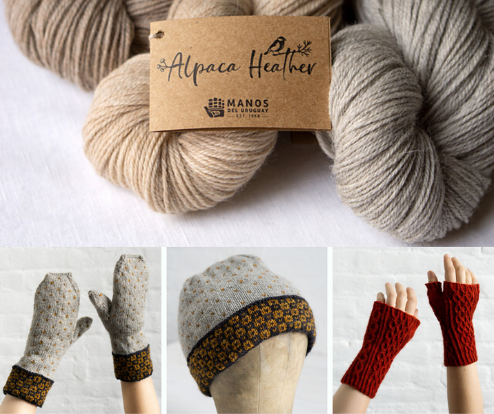Introducing Alpaca Heather from Manos del Uruguay