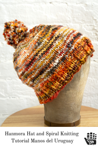 Hanmora Hat and Spiral Knitting