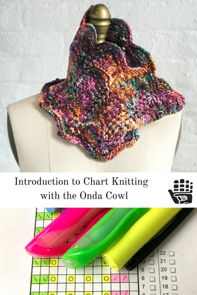Introduction to Chart Knitting with the Onda Cowl