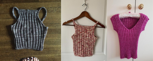 Warm Weather Tops in Manos del Uruguay Yarns