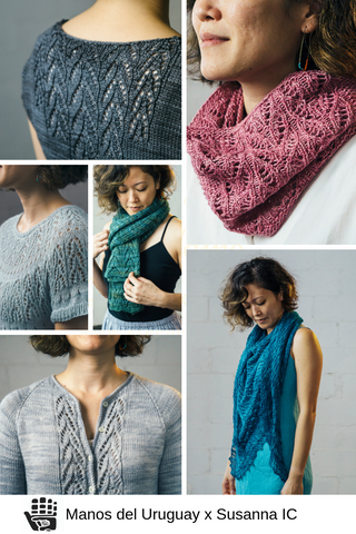 Patterns by Susanna IC in Manos del Uruguay Yarns, 2019.
