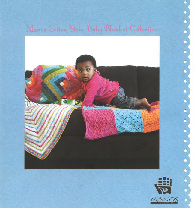 Cotton Stria Baby Blanket Collection