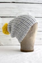 Simple Ribbed Hat (F48)