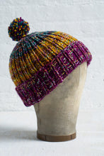 Simple Ribbed Hat (F48B)