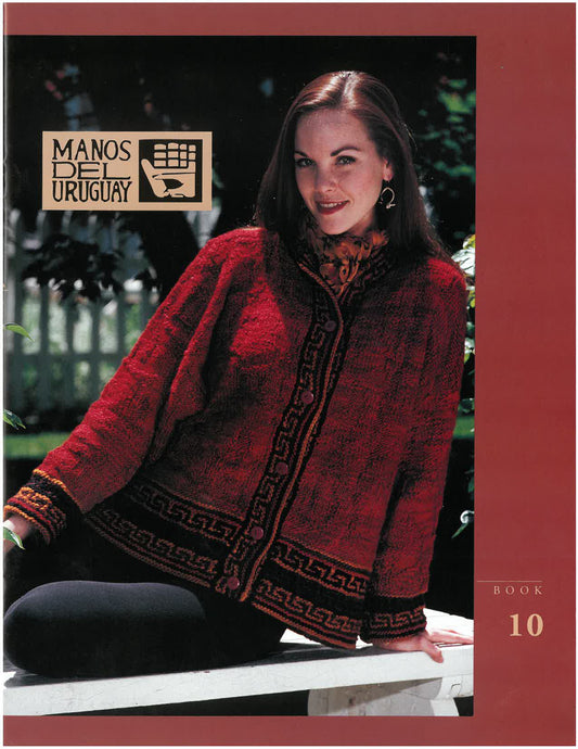 Manos Wool Clásica Book 10