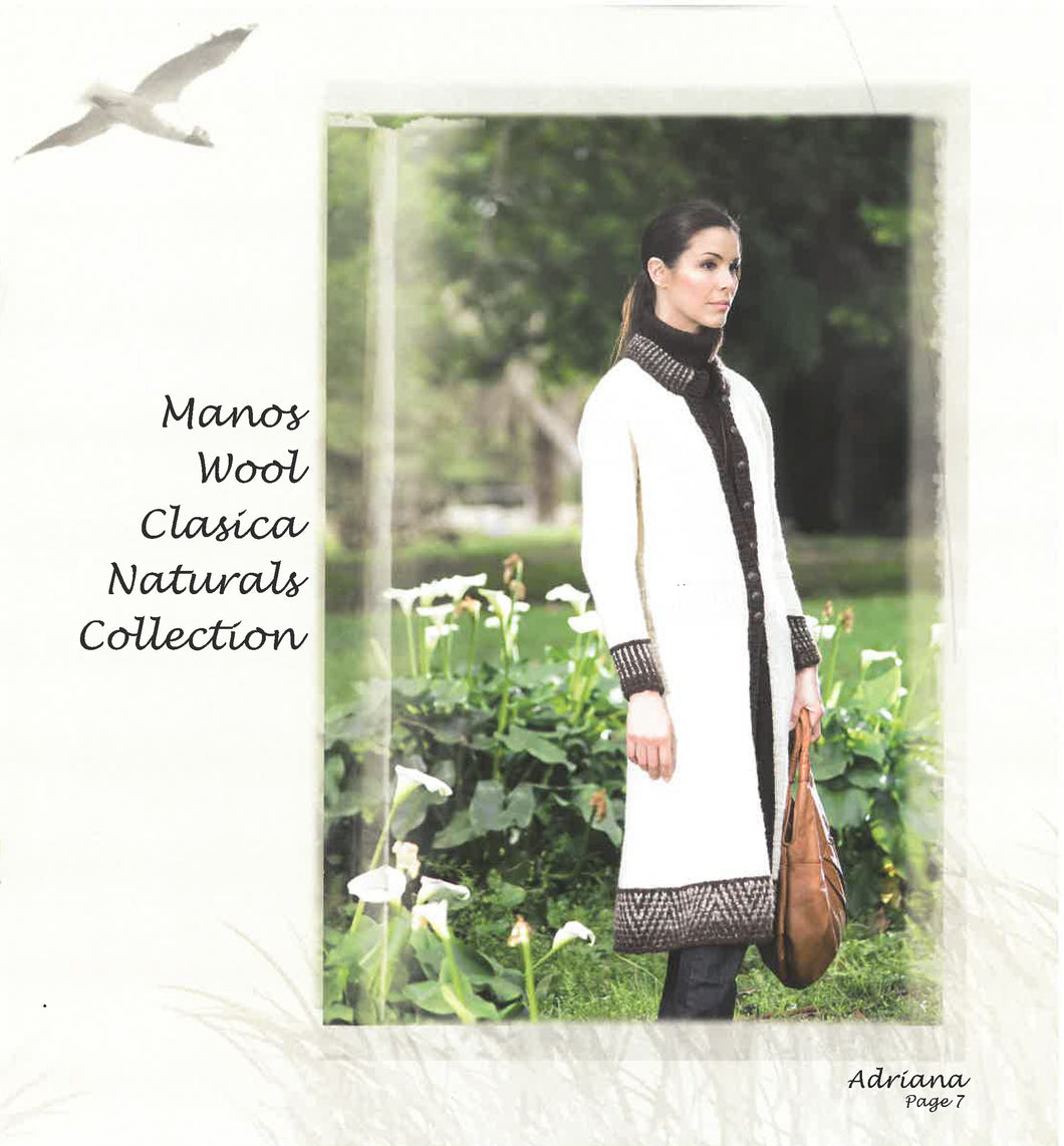 Manos Wool Clásica Naturals Collection