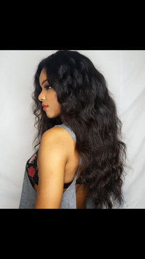 Raw Wavy Indian Hair