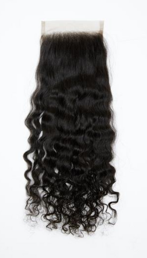 Raw Indian Curly Closure