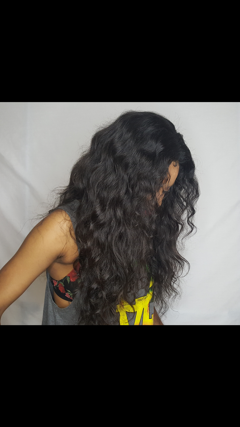 Raw Indian Wavy Closure