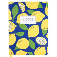 Load image into Gallery viewer, Yellow Lemon Soft Cover Journal